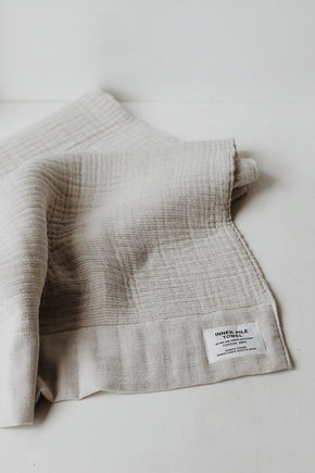 Shinto Inner Pile Towel - Off White