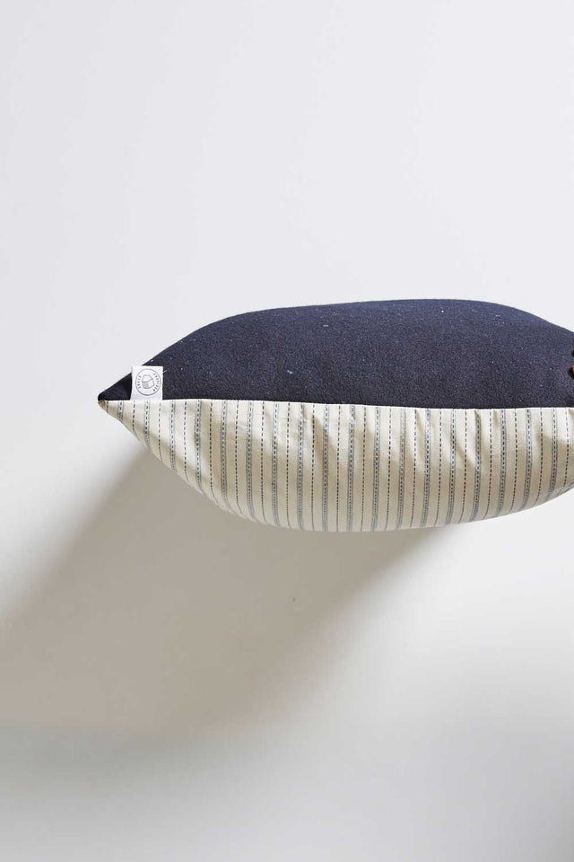 Japanese Wool & Linen Cushion