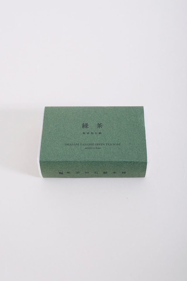 Japanese Green Tea Cold Pressed Soap