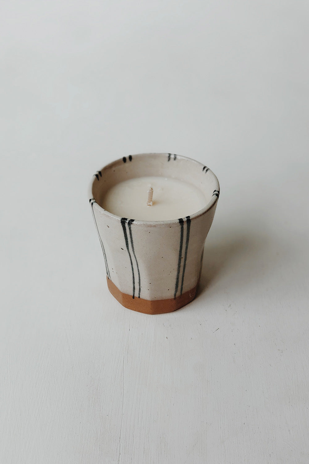 Ama Stripe Candle