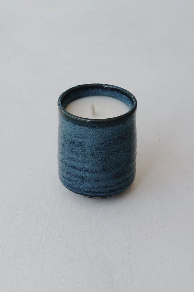 Japanese Kadoma Candle - Blue
