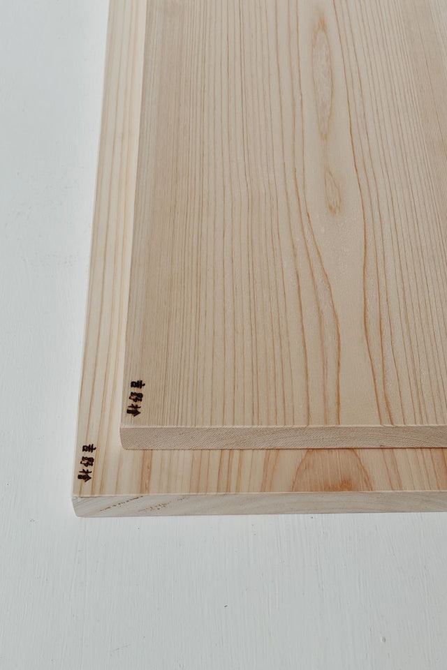 Japanese Hinoki Chopping Board - Large