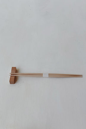 Hinoki Wood Saké + Chopstick Set