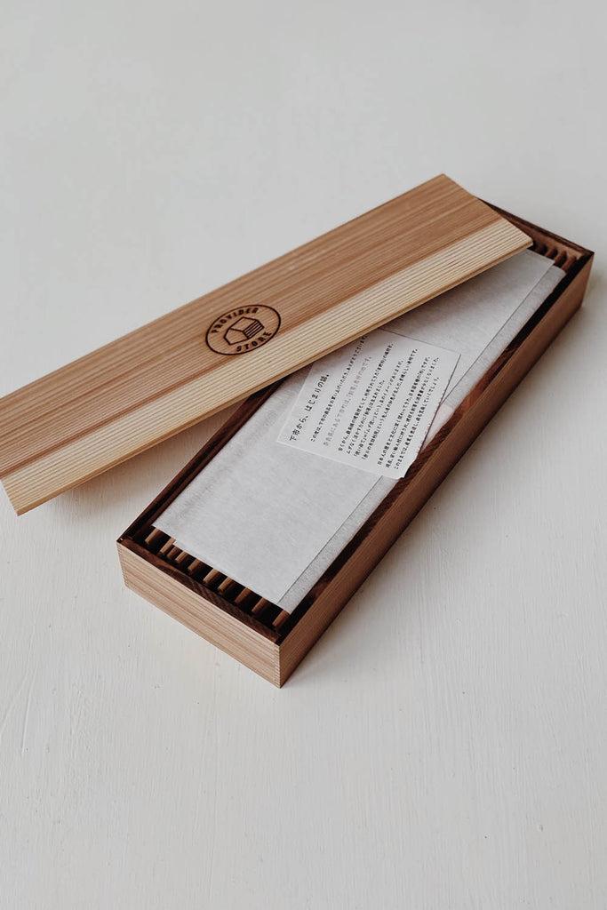 Japanese Cedar Chopsticks with Box - 30 pairs