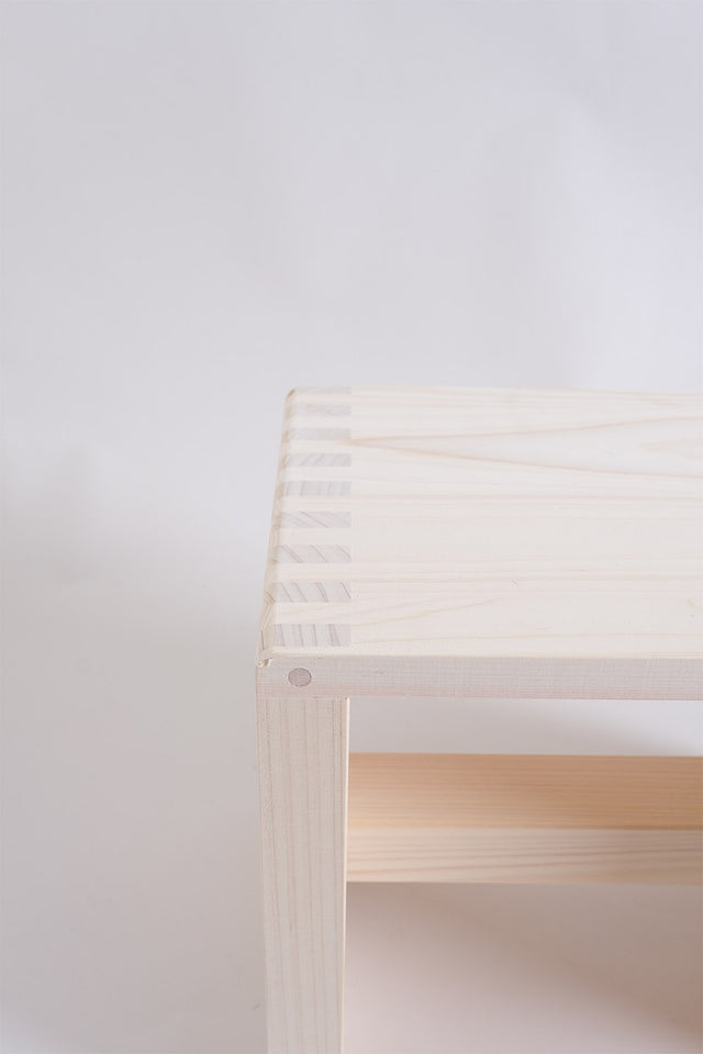 Japanese Hinoki Stool