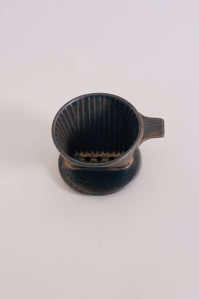 Ancient Pottery Coffee Dripper - Brown