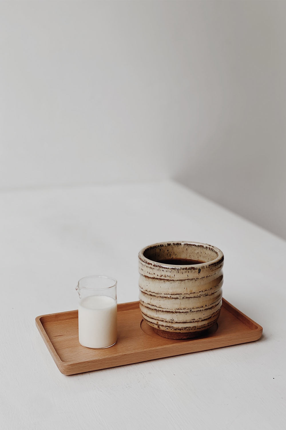 Wooden Coffee Tray