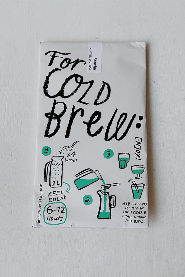 Makijima Tea Co x Provider – Cold Brew Green Tea