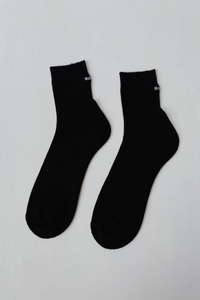 Rototo 'Cool Max' Socks - Black