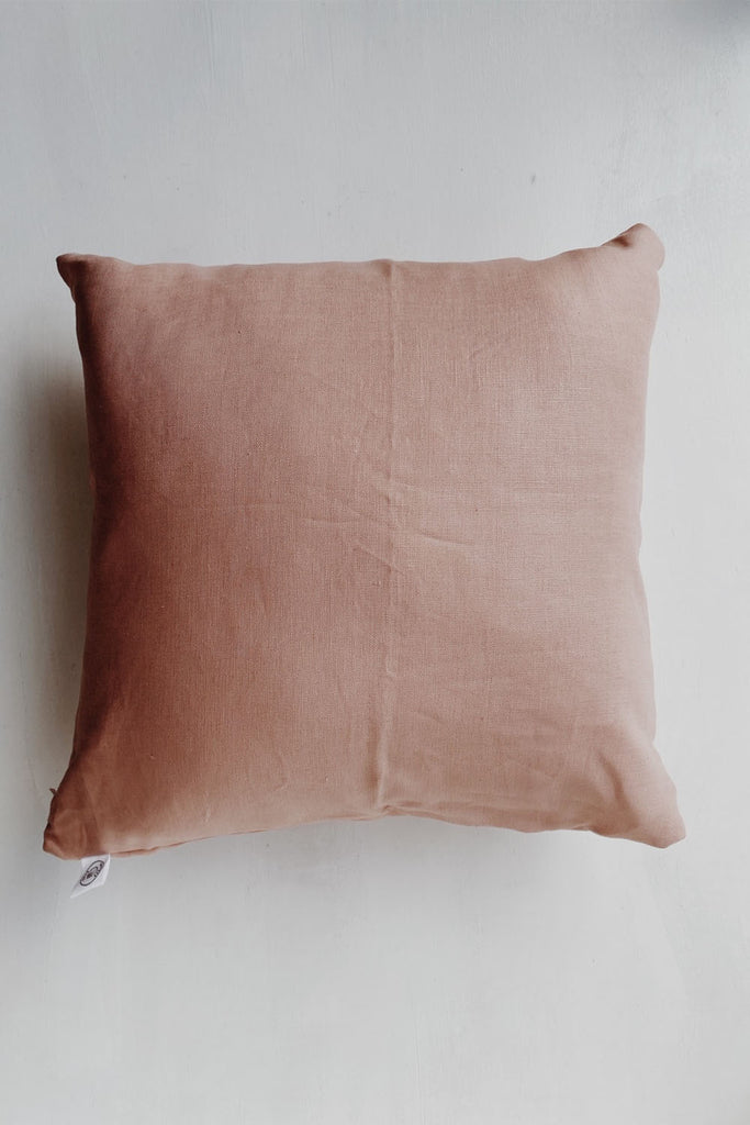 Linen Cushion - Dusty Pink