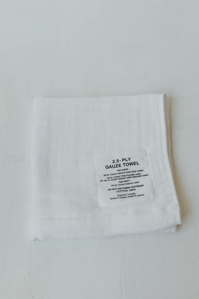 Shinto 2.5 Gauze Washcloth - White