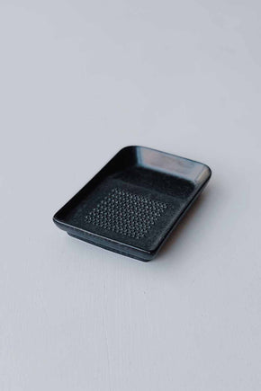 Ceramic Wasabi/Ginger Grater - Black