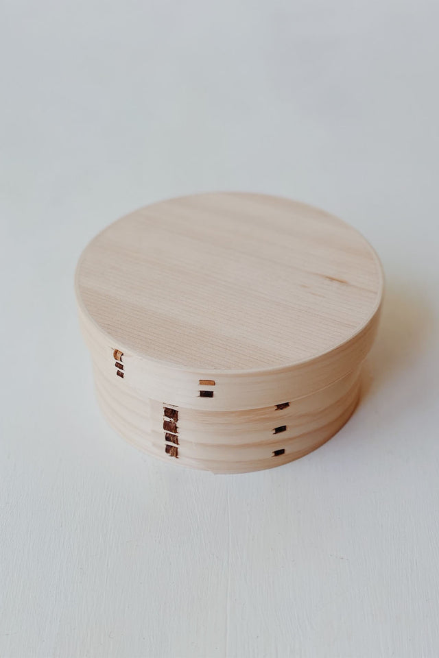 Hinoki Wooden Box