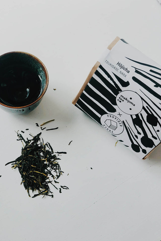 Makijima Tea Co x Provider – Hōjicha Green Tea