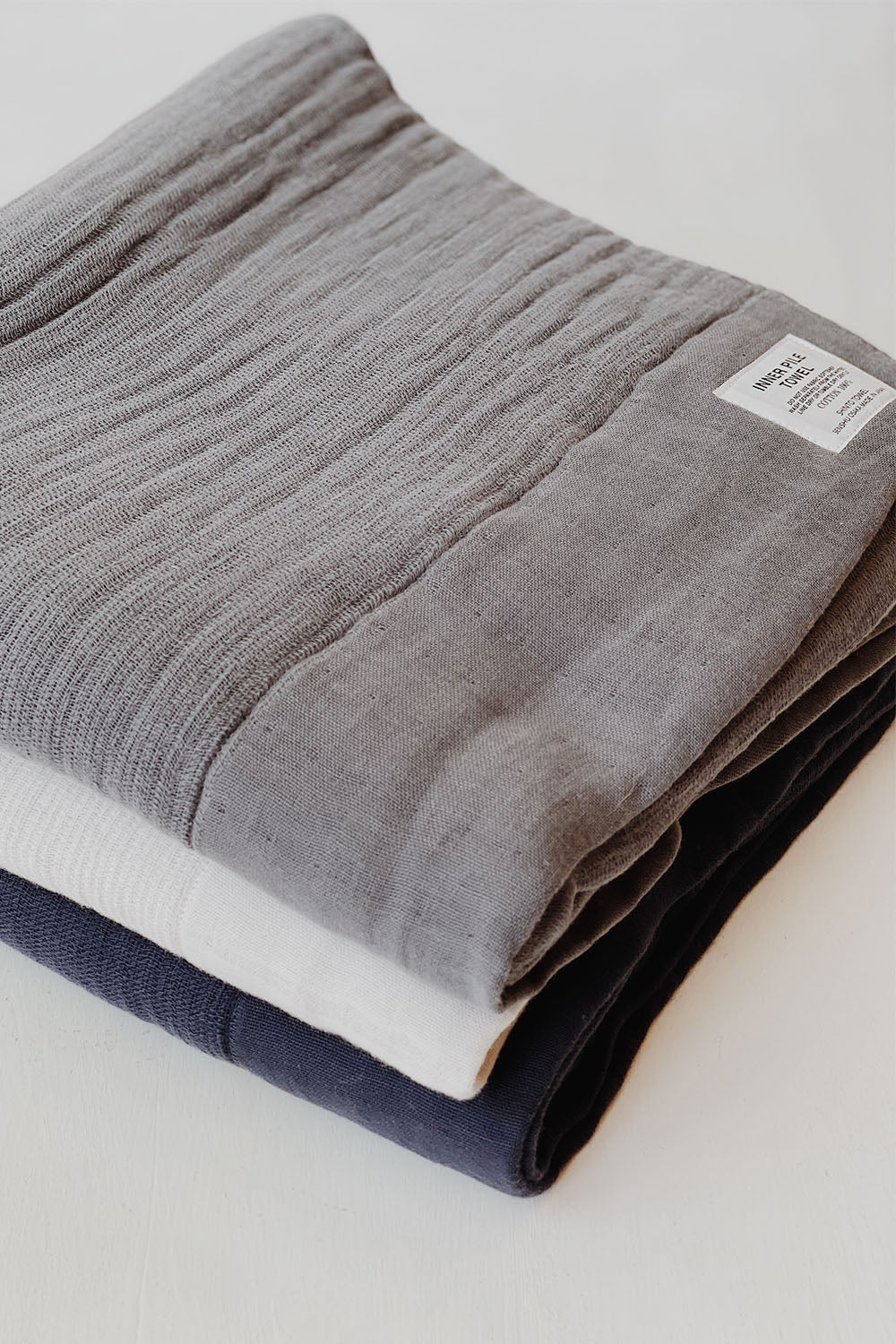 Shinto Inner Pile Towel - Navy