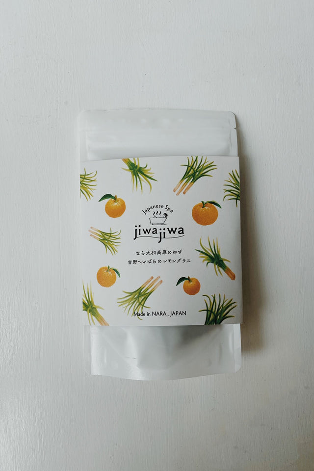 JiwaJiwa Bath Herb - Yuzu and Lemongrass - 2pk