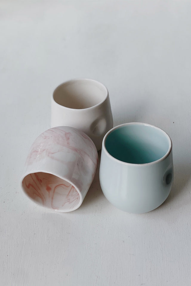 Milly Dent Kumo Cup - Seiji Celadon