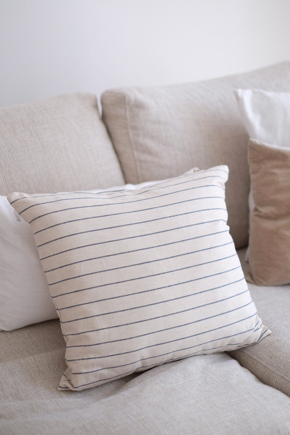 Japanese Linen Cushion - Natural