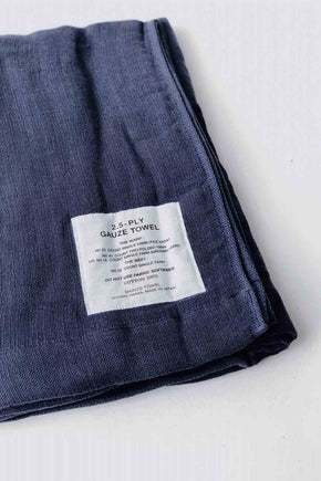 Shinto 2.5 Gauze Hand Towel - Navy