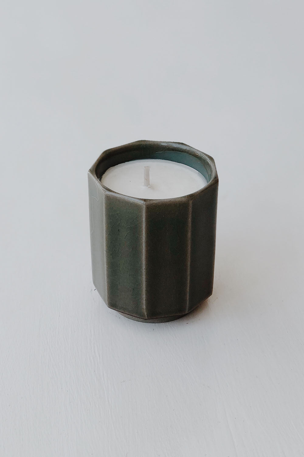 Japanese Onji Candle - Green