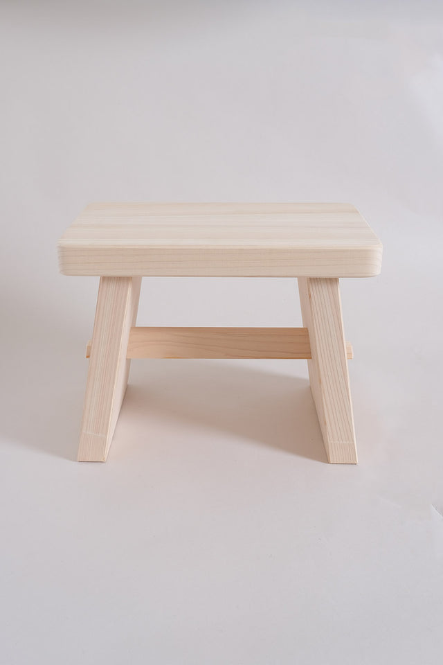 Japanese Hinoki Bath Stool – Large