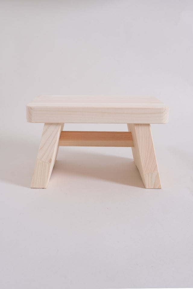 Japanese Hinoki Bath Stool – Small