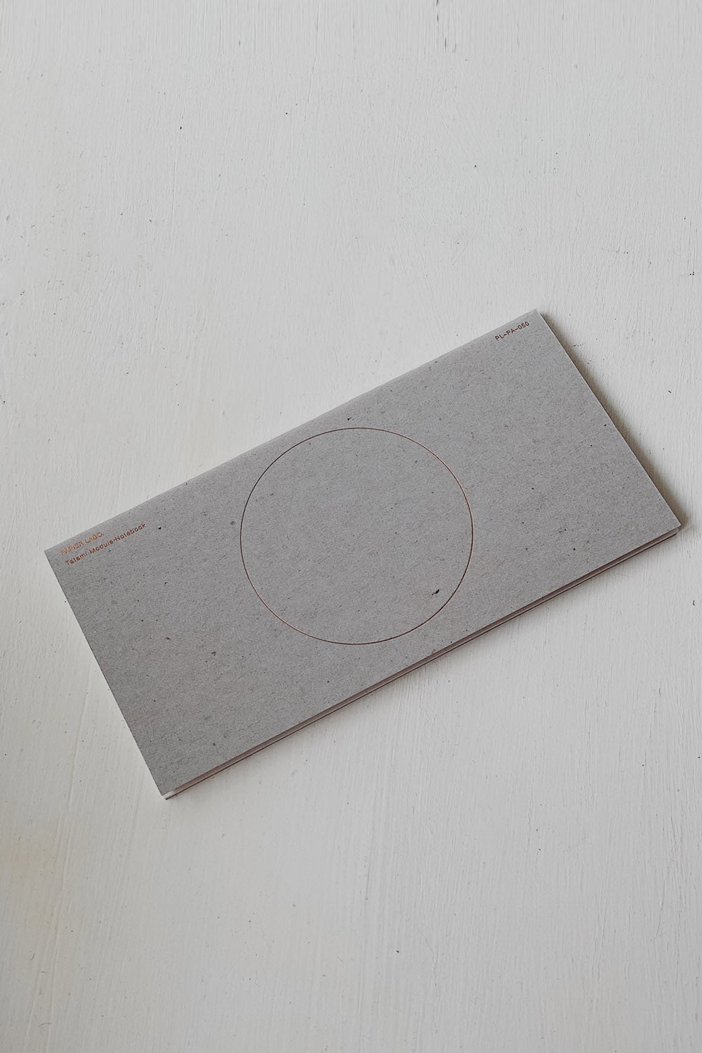 Papier Labo Tatami Module Notebook - Grey/Gold