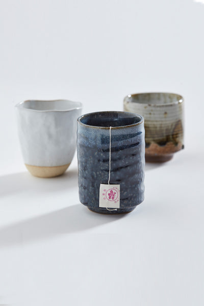 Japanese Stoneware Candle - Mint