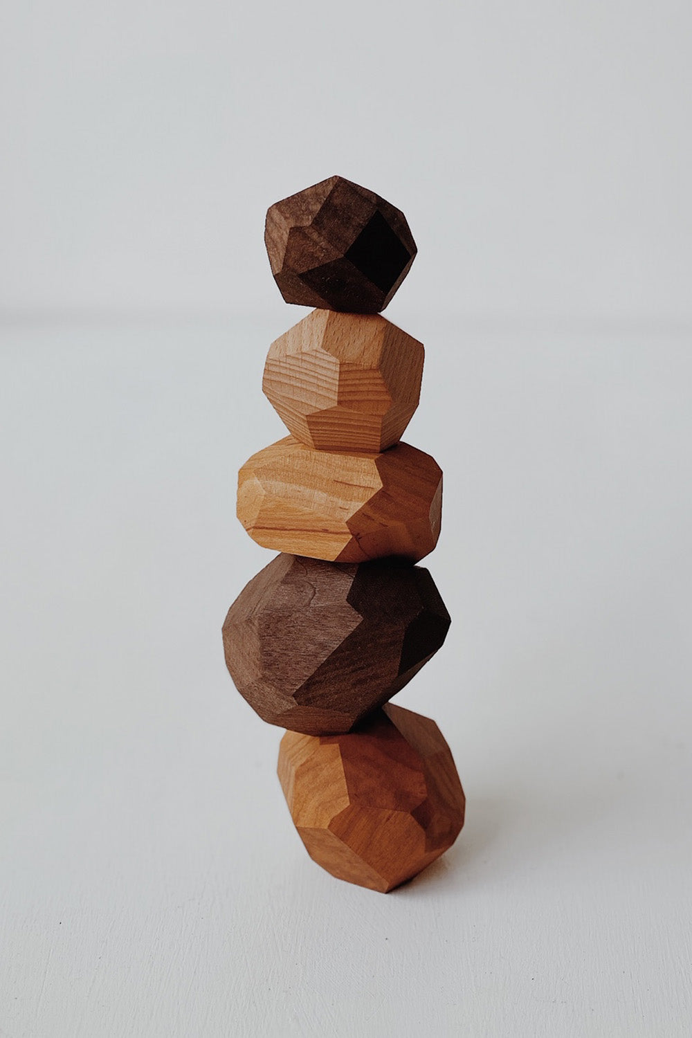 Tumi-isi Balancing Blocks - Cherry Wood