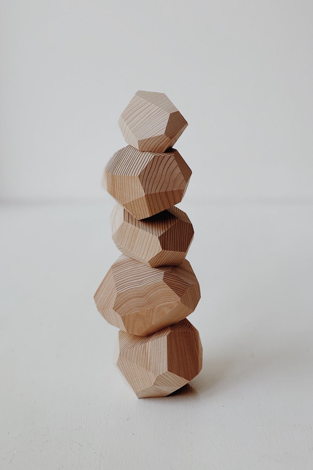 Tumu-isi Balancing Blocks - Beech Wood