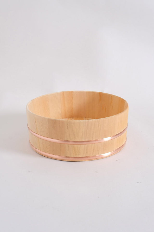 Japanese Wooden Wash Bowl – Medium