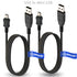 2 x pcs T-Power USB Cable for Polaroid CAMERA iZone MP3 MP4 Replacement Spare Power Cord Charging Sync Data Cable