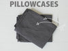 RECTANGL.co| Charcoal Pillowcases 100% Linen - -pillowcases - 1