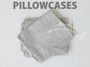 RECTANGL.co| Grey Stripe Pillowcases 100% Linen - -pillowcases - 1