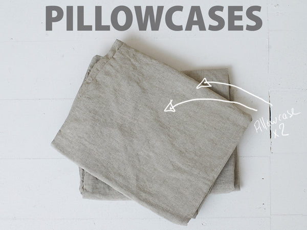 RECTANGL.co| Natural Pillowcases 100% Linen - -pillowcases - 1