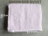RECTANGL.co| Pale Pink Duvet Set 100% Linen - -Duvet Sets - 4
