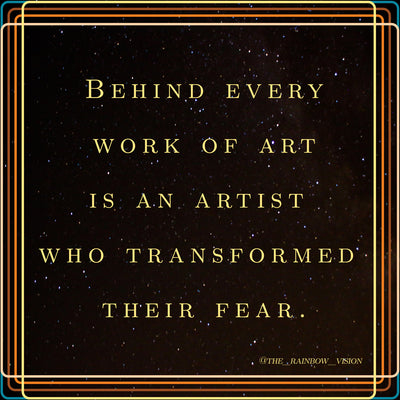 3 Steps to Transform Fear in the Shadow Artist