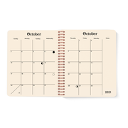 Pre-order July 2021 - August 2022 Smiley Planner, Sapphire Blue