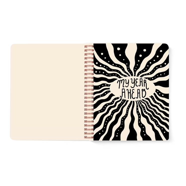 Pre-order, Smiley Open-Dated 12 Month Planner