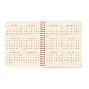 Pre-order July 2021 - August 2022 Smiley Planner, Grass Green