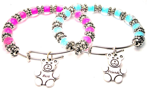 best friend bracelet, bff bracelet, best friends jewelry, best friends bangles,