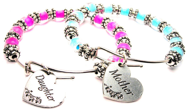 mother daughter bangles, mother daugher bracelets, mother daughter jewelry