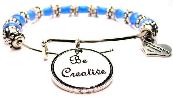 creativity bracelet, creativity jewelry, creativity bangles, positive expression jewelry