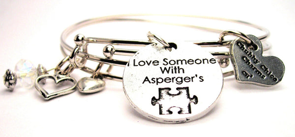 Aspergers bracelet, Aspergers jewelry, autism awareness jewelry, autism mom jewelry