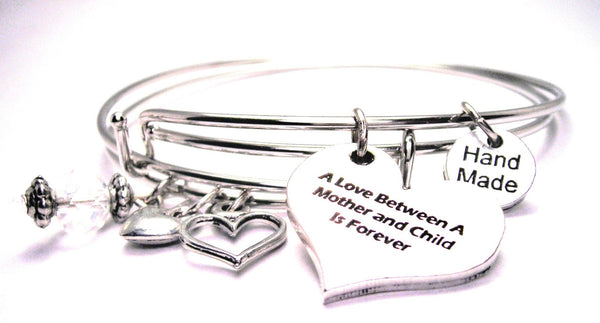 mother child love bracelet, mother bracelet, mother jewelry, mom bracelet, mom jewelry, love jewelry