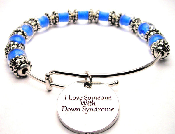down syndrome bracelet, down syndrome awareness, down syndrome jewelry, down syndrome bangles