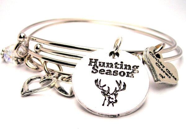 hunting bracelet, hunting jewelry, hunter bracelet, hobbies jewelry