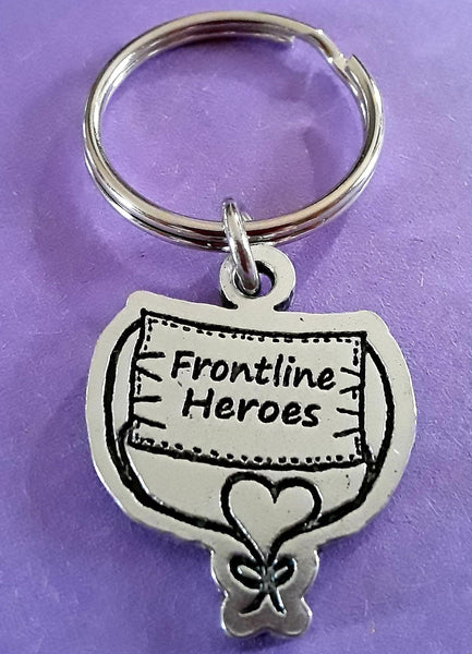 Frontline  Heroes Medical Mask keychain