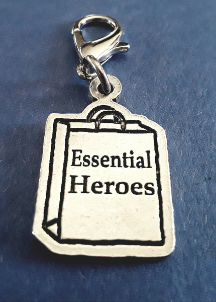 Essential Heroes Shopping bag zipper pull