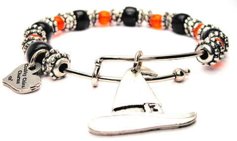witch bracelet, witch jewelry, witch bangles, halloween jewelry, halloween bracelet, holiday jewelry